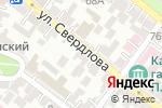 Схема проезда до компании Мебельная мастерская в Астрахани