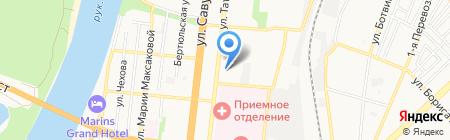 Zoo Winner`s Line на карте Астрахани