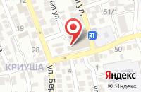 Схема проезда до компании Эльвира в Астрахани