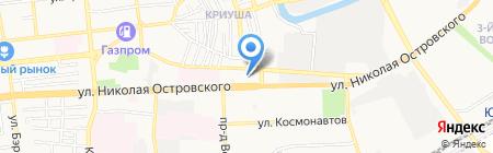 Букмекерский центр на карте Астрахани