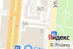 Схема проезда до компании Универ в Астрахани