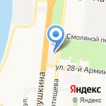 Филфиля на карте Астрахани