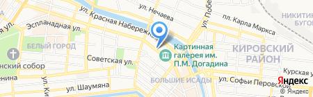 Приемная Президента РФ в Астраханской области на карте Астрахани