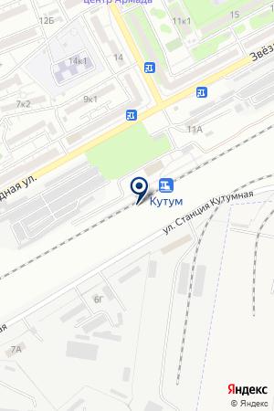 КАСПИЙСКОЕ МОНТАЖНОЕ УПРАВЛЕНИЕ на карте Астрахани
