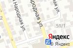 Схема проезда до компании AMG в Астрахани