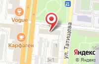 Схема проезда до компании КаспНИРХ в Астрахани