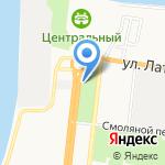 Пиратская пристань на карте Астрахани