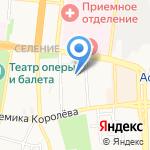 Астраханский областной радиотелевизионный передающий центр на карте Астрахани