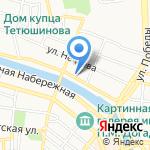 НУР на карте Астрахани