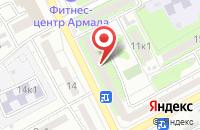 Схема проезда до компании Корунд30 в Астрахани