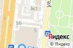 Схема проезда до компании Ангелина в Астрахани