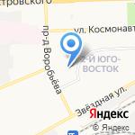 Библиотека №4 на карте Астрахани