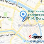 Элиф на карте Астрахани