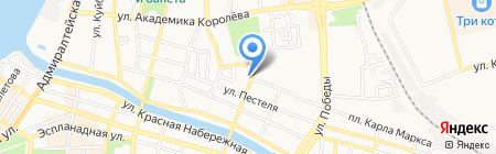 Постройка на карте Астрахани
