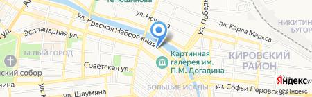 Новая Клиника на карте Астрахани