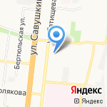 АБГ-Авто на карте Астрахани