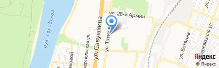 АлюВентСтрой на карте Астрахани