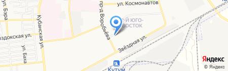 Аптека-Оптика №2 на карте Астрахани