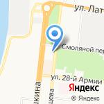 Федеральное агентство по рыболовству на карте Астрахани