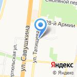 Нон-Стоп на карте Астрахани
