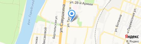 Дельта Шиппинг на карте Астрахани