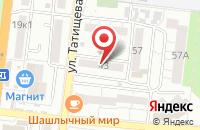 Схема проезда до компании Дельта Шиппинг в Астрахани