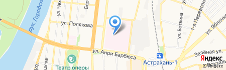 Банкомат ВКАБАНК на карте Астрахани