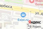 Схема проезда до компании Компания по прокату инструмента и оборудования в Астрахани