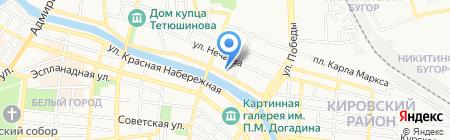 Спецоденься! на карте Астрахани