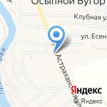 Проф-маркет на карте Астрахани