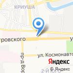 Ля фам на карте Астрахани