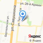 ДеАл на карте Астрахани