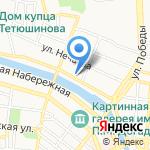 ОдевайКА на карте Астрахани