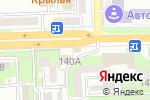 Схема проезда до компании Ваши Окна в Астрахани
