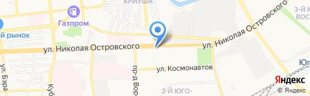 Магазин женской одежды на ул. Николая Островского на карте Астрахани
