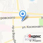 ТоЁда на карте Астрахани