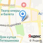 Винный погребок на карте Астрахани