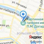 Талисман на карте Астрахани