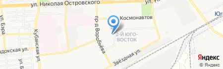 Детский сад №134 на карте Астрахани