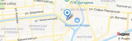 Областной методический центр на карте Астрахани