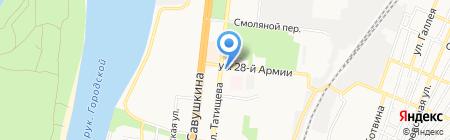Клыки@web на карте Астрахани