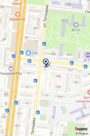 ВЫСТАВОЧНЫЙ ЗАЛ СТИЛЬ HITACHI на карте Астрахани