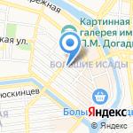 Дербент на карте Астрахани