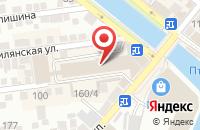 Схема проезда до компании Senator в Астрахани