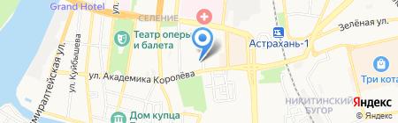 Почтовое отделение №40 на карте Астрахани