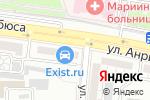 Схема проезда до компании Дюна в Астрахани
