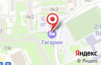 Схема проезда до компании Гагарин в Астрахани