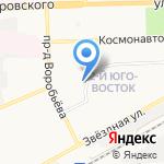 Гагарин на карте Астрахани