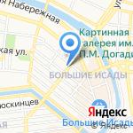 КАПЛЯ на карте Астрахани