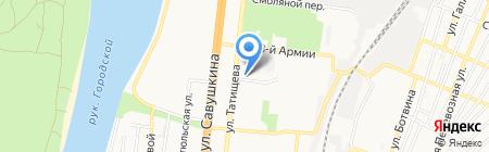 REstart на карте Астрахани